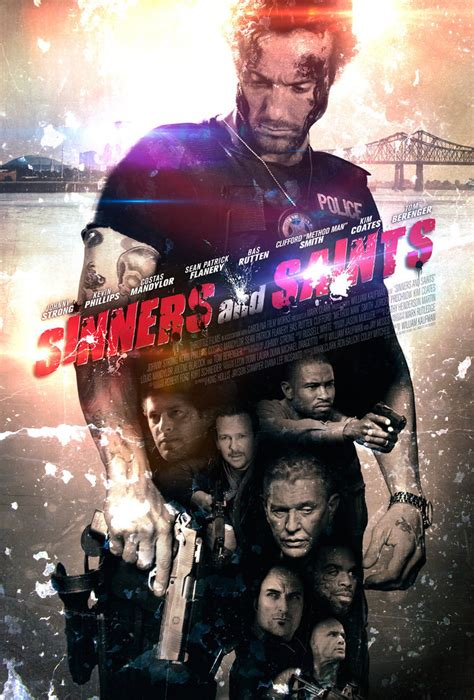 Sinners Saints 2010 Sinners And Saints Movie Poster Variant By Throttledave On Deviantart