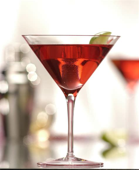 martini perfect red apple martini