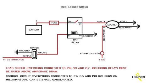 jeep tj rubicon locker wiring diagram wiring diagram rubicon locker wire up