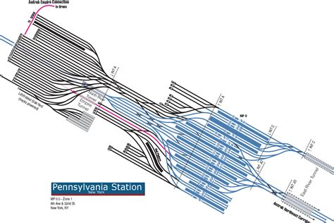 layout york train station nj transit releasing ny penn station map station