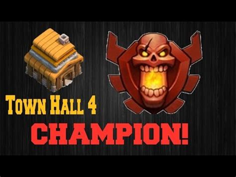 ays gaming clash of clans more attacked by a town 4 chion coc road to chions