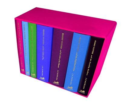 Herry Potter Complete Set Bloomsbury harry potter special edition boxed set x 7 j k rowling bloomsbury children s books
