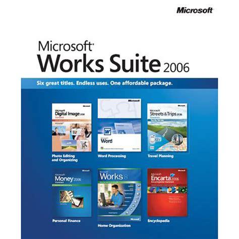 Microsoft Sweet Microsoft Works Suite 2006 Walmart