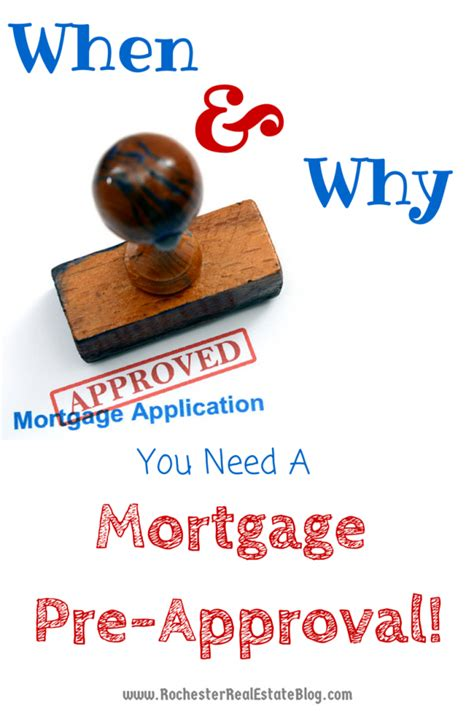 getting approved for a house loan when and why should i get pre approved for a mortgage