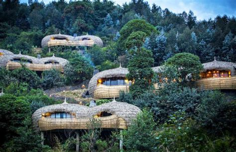 Double Kitchen Island by Bisate Lodge Majestic Resort For Campers Opens In Rwanda