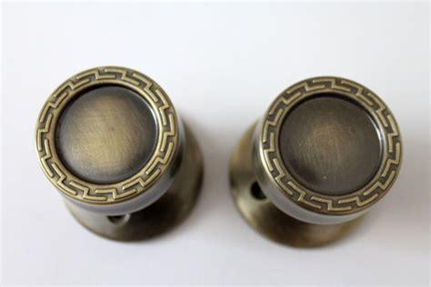 Mid Century Modern Door Knobs Mid Century Modern Gold Tone Door Knobs Handles Hardware 1960s