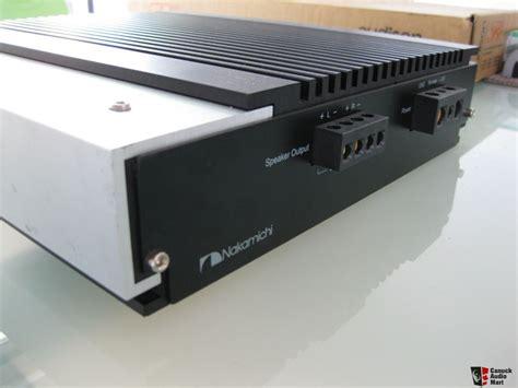 Nakamichi Power Lifier N1 nakamichi pa2002 power brand new photo 475185 canuck audio mart