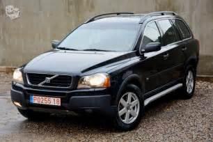Volvo Xc90 Kaina Volvo Xc90 2 4 L Visureigis Parduoda Si絆lo
