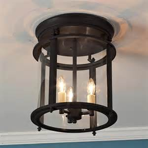 Classic Ceiling Lights Classic Ceiling Lantern Large Traditional Flush Mount Ceiling Lighting By Shades Of Light
