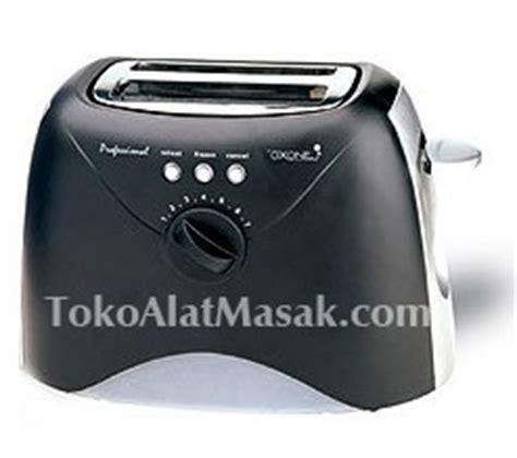 Pemanggang Roti Merk Oxon mesin toaster pembuat roti bakar murah rumah tangga toko