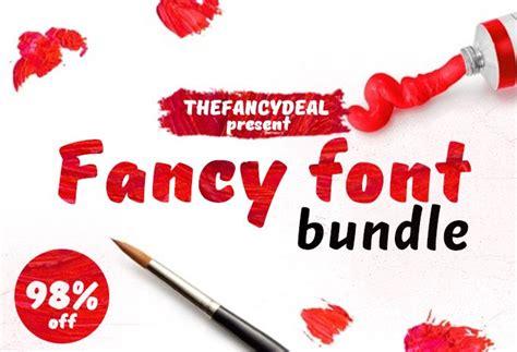 design font bundles fancy font graphics bundle thefancydeal