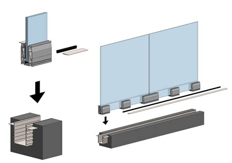 corrimano in alluminio fontanot railing glass corrimano in vetro extrachiaro