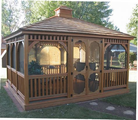 12x12 Wood Gazebo 12 By 12 Gazebo Gazebo Ideas