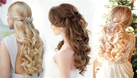 rose hairstyle half up half down 20 half up half down wedding hairstyles roses rings