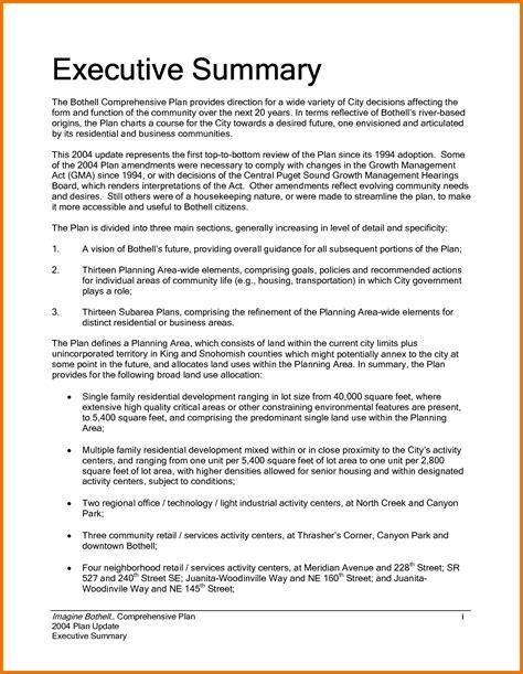 7 executive summary examples free premium templates