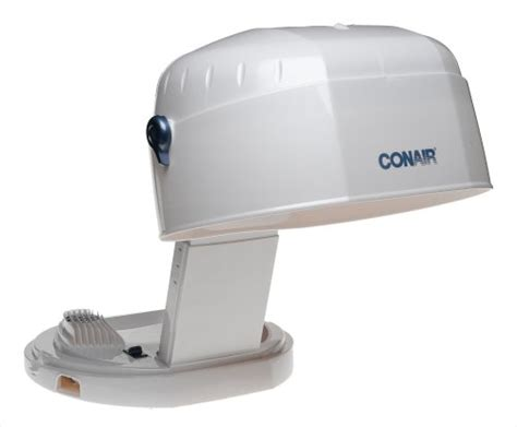 Conair Hooded Hair Dryer 1875 conair hh400 collapsable bonnet 1875 watt hair dryer white new ebay