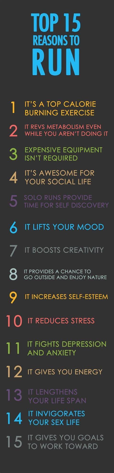 running tips motivation top 15 reasons to run running tips running