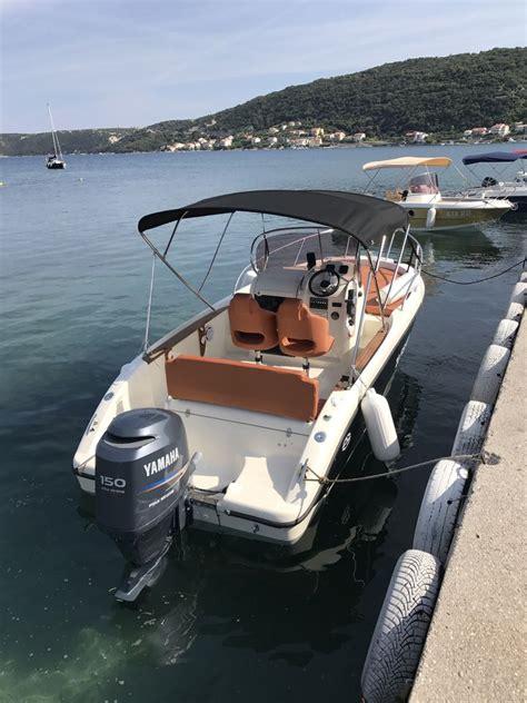 cabin fisher fisher 20 sundeck cabin for rent supetarska draga croatia