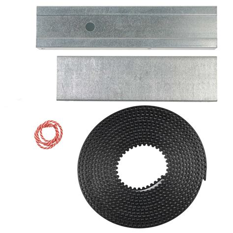 genie garage door opener extension kit 37302r genie silentmax belt drive rail extension kit