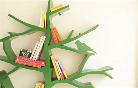 tree bookshelf fubiz media