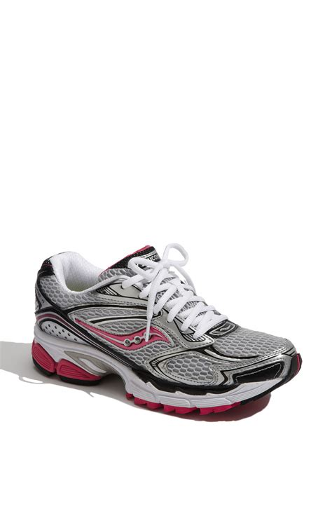 womens black saucony running shoes saucony progrid guide 4 running shoe in gray