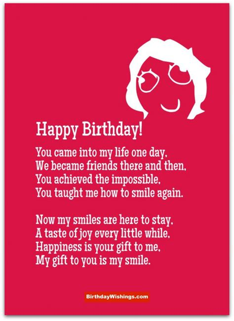 Ee  Birthday Ee   Poem For Best  Ee  Friend Ee   Birthdaywishings M