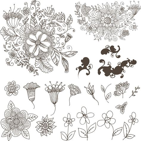 flower design eps flowers vector graphics blog page 9