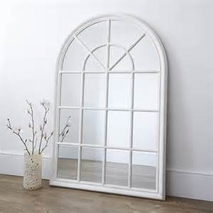 Ideas Design For Arched Window Mirror White Arched Window Mirror By Primrose Plum Notonthehighstreet