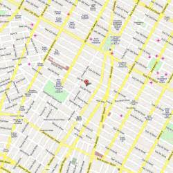 New York City Walking Map by Walking Map Of New York City Music Search Engine At