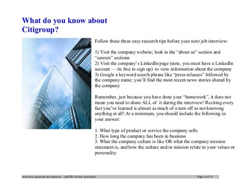 epl questions and answers citigroup interview questions and answers