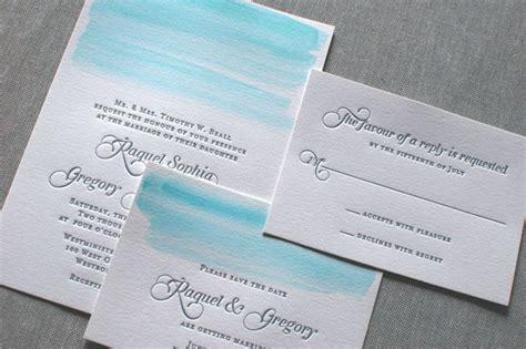 watercolor wedding invitations diy diy watercolor wedding invitations locke