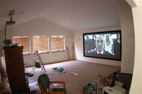 projector screen   bright room avs