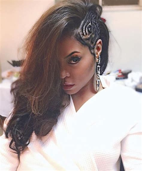 how to diy taraji p henson side swept braids hairstyle