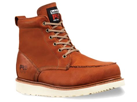 timberland pro wedge sole 6 inch steel toe boot