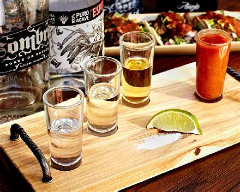 Bed And Breakfast Sonoma County Tequila Flight Picture Of La Rosa Taquileria And Grille