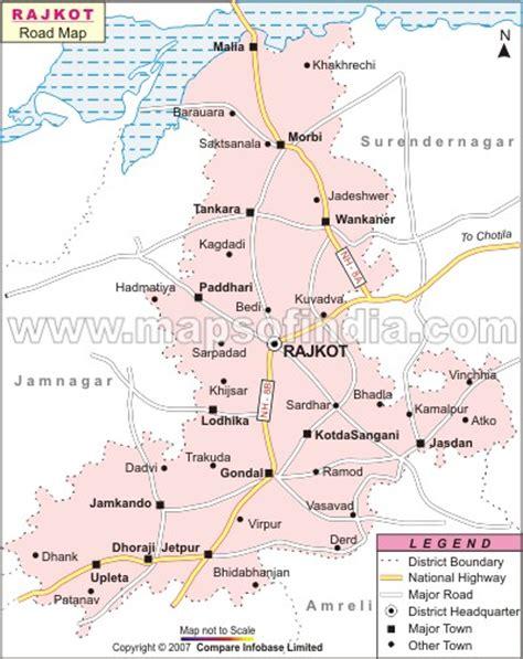 ahmedabad city map satellite rajkot map and rajkot satellite image