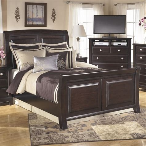 Ridgley King Bedroom Set by Ridgley Wood California King Sleigh Panel Bed In