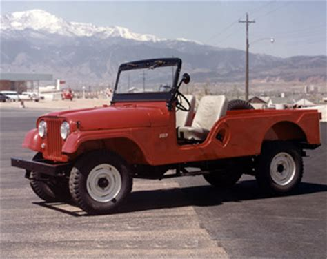 Jeep Cj History Rubicon4wheeler Jeep History All Models