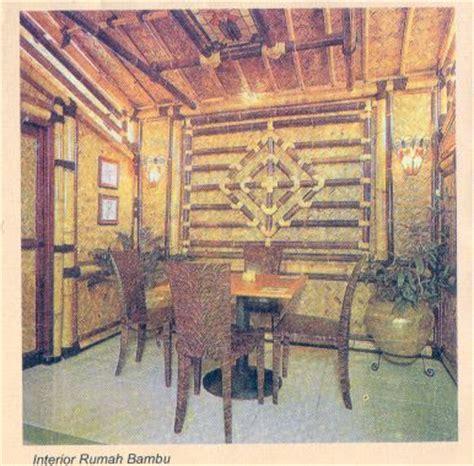 design interior rumah bambu design interior rumah kumpulan gambar rumah