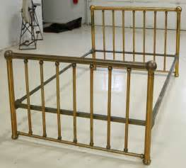 462 antique brass bed by foster lot 462