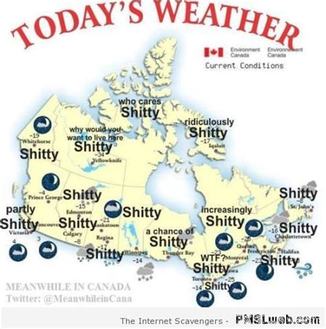 canada weather forecast map tuesday funnies a giggle powered collection gallery