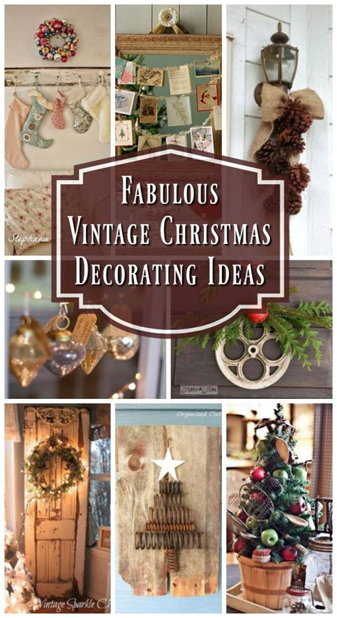 top vintage christmas decorations christmas celebrations