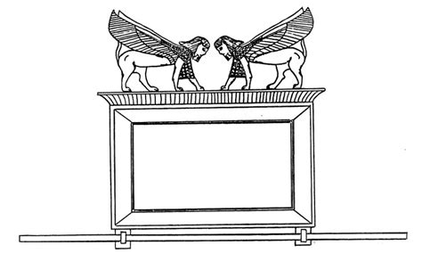 free coloring pages of ark of the covenant