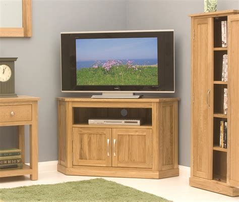 furniture wood corner tv cabinet with doors and