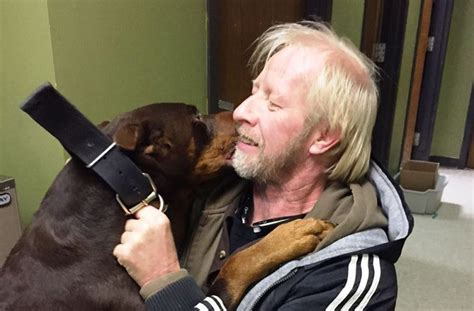 reunited with owner missing reunited with owner after 3 years couldn t stop jumping and wiggling