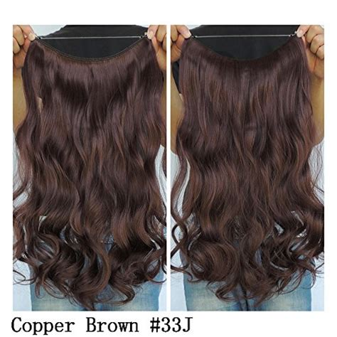 uniwigs halo wavy medium brown hair extentions secret halo hair extensions flip in curly wavy hair