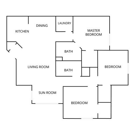 three bedroom two bath floor plans 100 three bedroom two bath floor plans unique floor