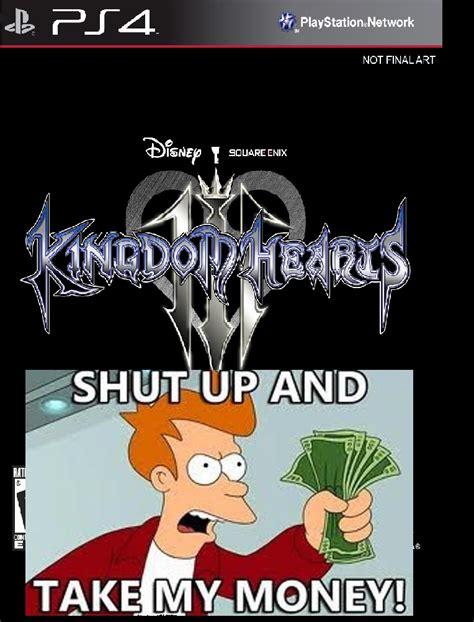 Kingdom Hearts Memes - kingdom hearts iii ps4 i wanna rofl