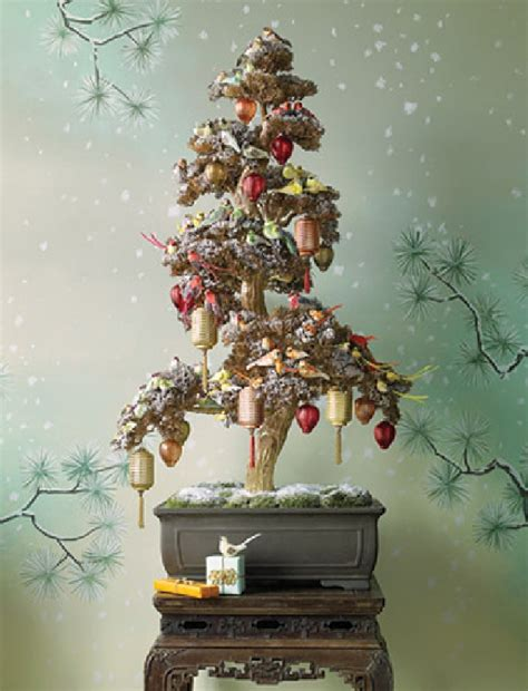 images of unusual christmas trees cool bonsai chrismas decoration in snowy themed