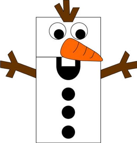Paper Bag Snowman Craft - frozen paper bag puppets invitations ideas